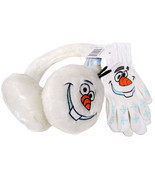 OLAF EAR MUFFS AND GLOVE SET - £6.44 GBP