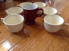Collection of 18 tea cups and 8 saucers vintage from estate image 4