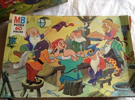 """Lot of 2 """"Story book"""" Puzzles, 60 Pieces Each"""