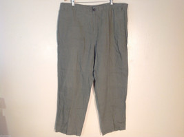 Pussers West Indies Womens Size XL Light Olive Green Dress Pants