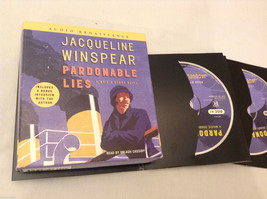 """Pardonable Lies"" Jacqueline Winspear Audiobook 11 Hours Audio Mystery Detective"
