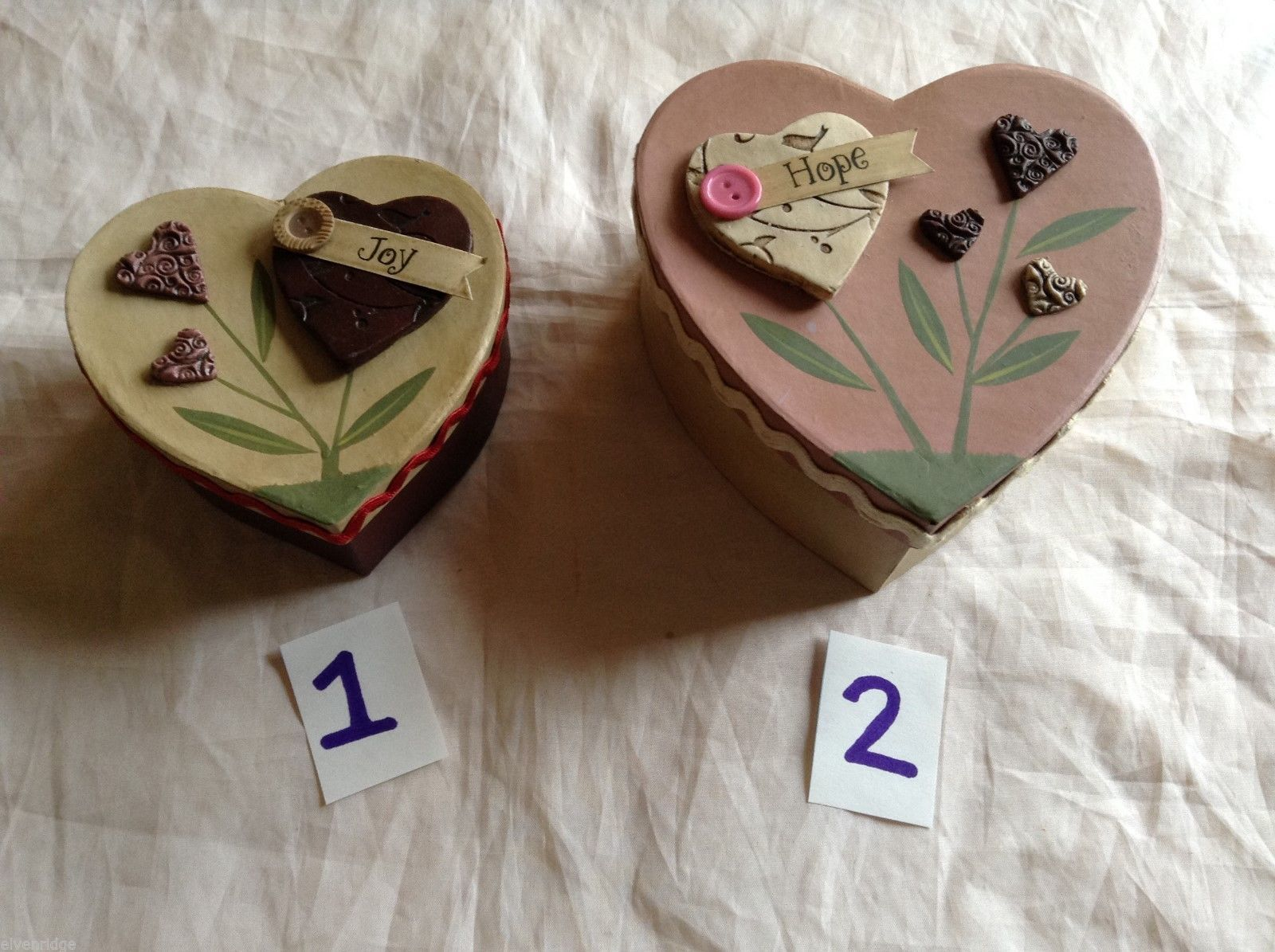 Valentine's Day Heart Nesting Boxes, 2 ct.