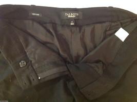 Talbots Womens Size 4 Black Wool Capri Dress Pants Slacks image 4