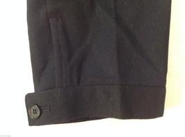 Talbots Womens Size 4 Black Wool Capri Dress Pants Slacks image 6