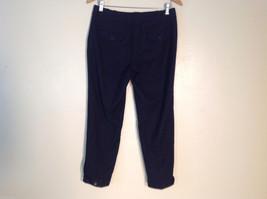 Talbots Womens Size 4 Black Wool Capri Dress Pants Slacks image 2