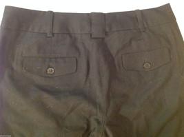 Talbots Womens Size 4 Black Wool Capri Dress Pants Slacks image 7