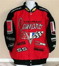 Chev Camaro Red Cotton Twill Jacket  - $159.95