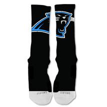 "Nike Elite socks custom Carolina Panthers Blackout Single ""Fast Shipping"" - $24.99"