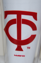 MINNESOTA TWINS MLB  4PC PLASTIC PINT SET 16OZ TUMBLER GLASS MADE IN THE... - $9.99
