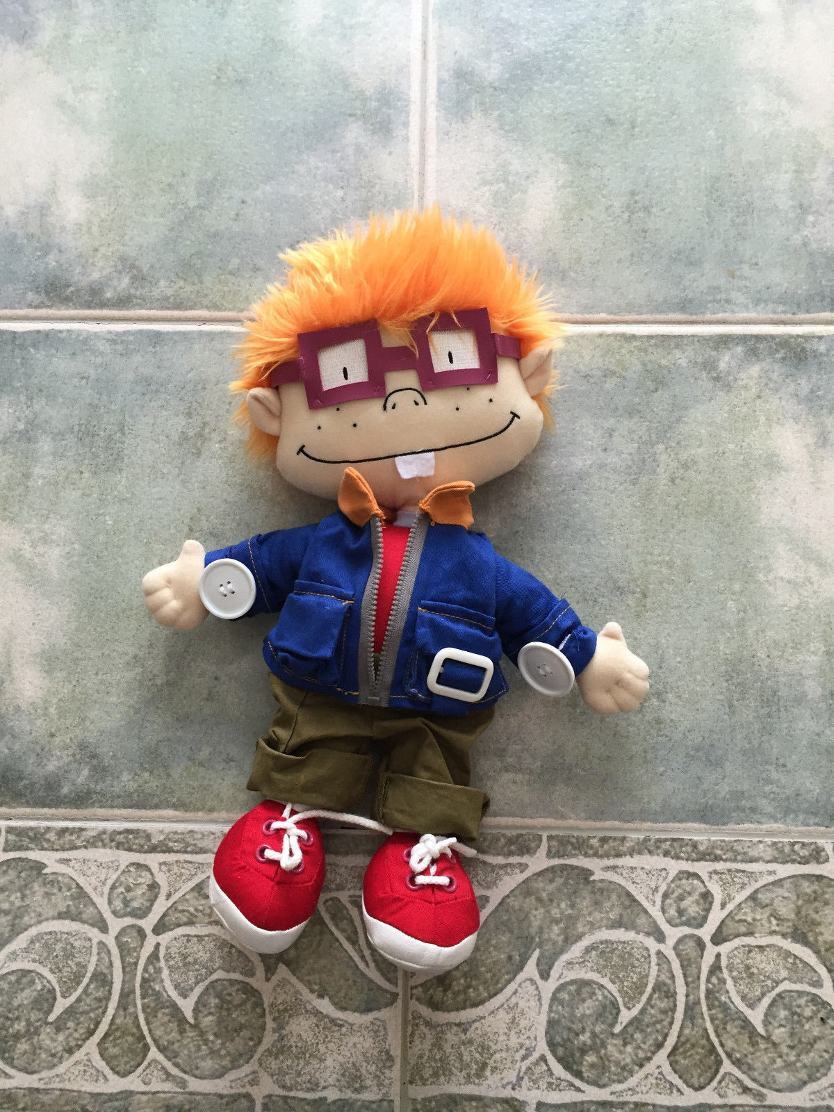 Gund 15 inch Rugrats Learn to Dress Chuckie Doll Chucky