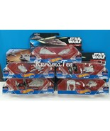 Star Wars Hot Wheels Die Cast Starships Millennium Falcon & More 5 Packs... - $34.71