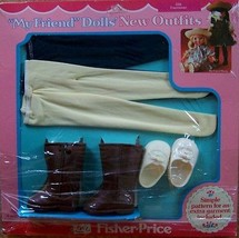 1984 FISHER PRICE MY FRIEND 261 FOOTWEAR WHITE ... - $23.76