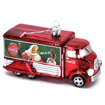 Kurt S Adler Coca-Cola & Santa Delivery Truck Hand-Crafted Glass Ornament CC4151 image 4