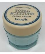 Benefit Total Moisture Facial Cream .3 OZ (8.9 g) Travel/Sample  Size - $8.99