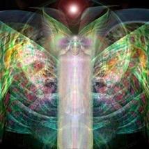 Divine Devata Serene Spirit of Enlightenment Love Luck Joy Abundance! pa... - $30.00