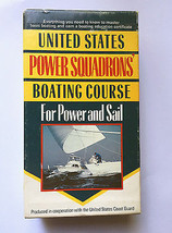 United States Power Squadrons Boating Course For Power & Sail • VHS + Bo... - $11.83