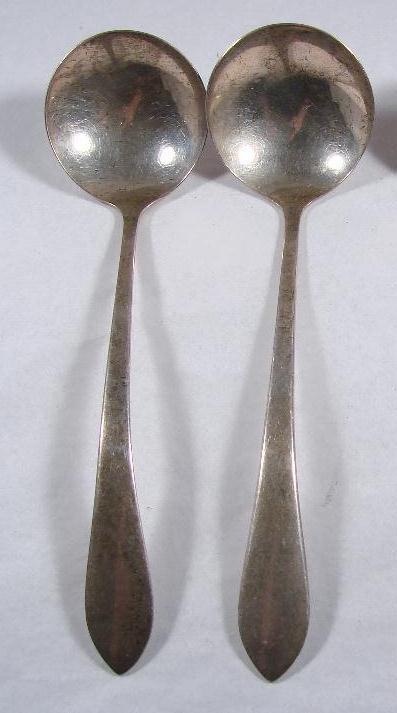 STERLING SERVING SPOONS