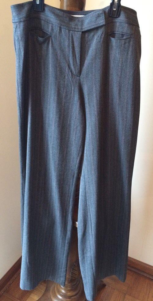 e5d25943879 Ann Taylor Loft Slacks Grey Pants White Red and 50 similar items