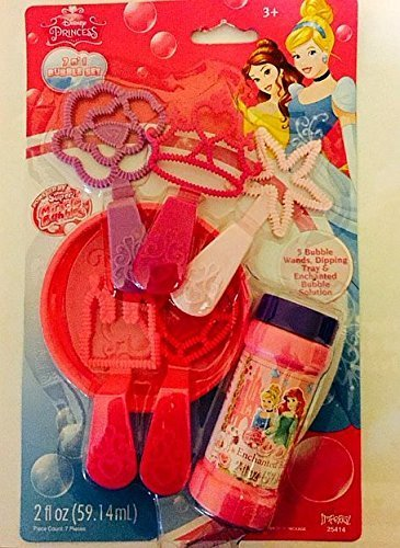 Disney Princess Royal Princess 5 in 1 Bubbles Set [Toy]