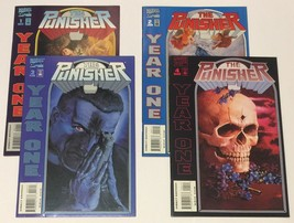 The Punisher Year One Complete 4 Issue Mini-Series 1 2 3 4 Marvel Comics 1994 - $19.79