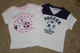 2 Soccer T-Shirts 1 Energy Zone 1 Arizona Girl 10 / 12 - $6.99