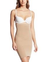 Julie France JF018 High Waist Slip Shaper (Nude, Medium) [Sports] - $68.00