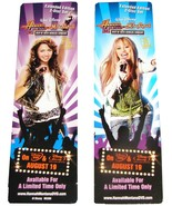 Set of 2 Walt Disney HANNAH MONTANA Bookmarks Movie Promotional Item FRE... - $0.00