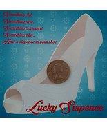 Yacanna Wedding Sixpence Lucky Sixpence for Bridal Shoe Silver Gift Boxe... - $9.69
