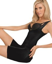 Julie France JF001 Frontless Body Shaper (Black, Medium) [Sports] - $82.00