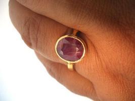 Ruby ring genuine 1