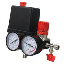 Air Compressor Pressure Switch Manifold Relief Regulator Gauges 0-180PSI 240V - $37.95