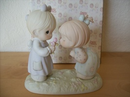 """1989 Precious Moments """"Good Friends are Forever"""" Figurine - $28.00"""