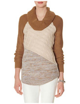 The Limited Long Cowl Neck Sweater, Light Grey, size XL, NWT - $39.99