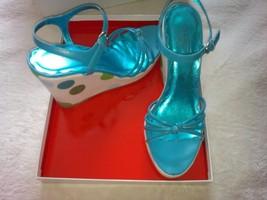 Coach Lona wedge sandals, size 8.5 M - $52.00