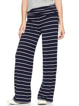 Gap Navy Striped Foldover Pants, size L, NWT - $55.00
