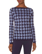 The Limited Houndstooth Sweater, Vista Blue, size XL, NWT - $62.50