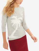 The Limited Palm Tree Intarsia Sweater, size L, NWT - $35.00