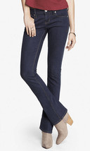 Express Stella Low rise Barely Boot Jeans, Dark Wash, size 12, NWT - $62.55