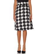 The Limited Printed Dot High Waist Midi Skirt, size L, NWT - $59.99