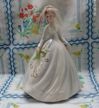 Vintage Josef Originals Bride Figurine // Cake Topper // Collectible - $35.00