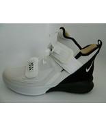 Nike Lebron Soldier XIII SFG White\White-Black Mens Shoes Size 12 - $129.99
