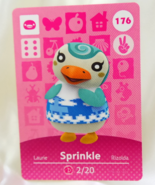 176 - Sprinkles - Series 2 Animal Crossing Villager Amiibo Card - $49.99