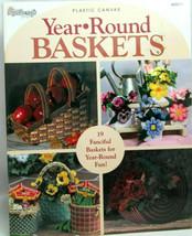 The Needlecraft Shop Year Round Baskets Plastic Canvas Patterns Booklet ... - $17.61