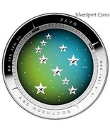 2013 $5 SOUTHERN SKY PAVO DOMED Silver Proof Coin - $262.13