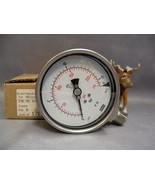 "232.50.100 Wika Pressure Gauge 4"" 230PSI 16 Bar 1/2""NPT - $75.17"