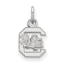 Sterling Silver LogoArt University of South Carolina XS Pendant - $41.00