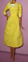 Disney Store Tiana Princess Frog Yellow Dress Gown Outfit Doll Fashion W... - $39.99