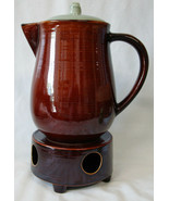 Red Wing Village Green Coffee Pot with Warmer - $85.03