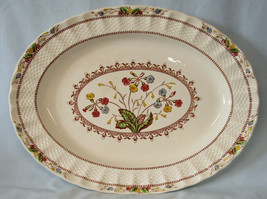 """Spode Cowslip S713 Oval Platter 13"""" by 10"""" USED - $55.33"""