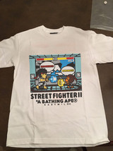 Bape Street Fighter Capcom Baby Milo Ryu Vs Milo t shirt white t-shirt g... - $25.00+